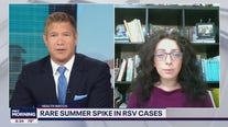 Rare summer spike in RSV cases