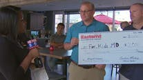 PAY IT FORWARD: For the Kids MD working to help critically ill children