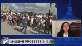 Rachel Chiu discusses debate over socialism, communism as protests in Cuba continue