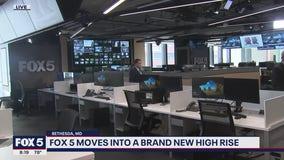 A look inside the new FOX 5 studios