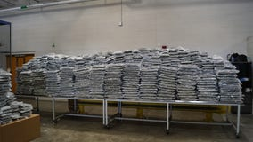 More than 2,500 pounds of marijuana seized at US-Canada border in Detroit