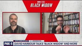 David Harbour talks new film Black Widow