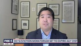 DC eviction moratorium set to expire July 31