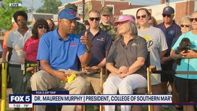 FOX 5 Zip Trip Leonardtown: College of Southern Maryland