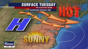 FOX 5 Weather forecast for Tuesday, July 27