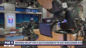 FOX 5 debuts new studios and says goodbye to the old studios