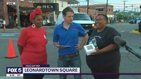 FOX 5 Zip Trip Leonardtown: Making friends!