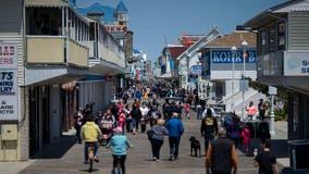 Ocean City Police condemn 'tasteless' flags using profanity on boardwalk