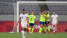 Tokyo Olympics: Sweden stuns US 3-0 in women's soccer opener