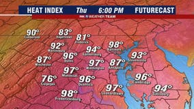 Hazy, hot, humid: High temperatures continue across DC area Thursday