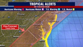 DC region could see remnants of Tropical Storm Elsa Thursday afternoon and evening