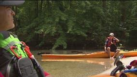 Maryland father, son kayaking 200 miles in Chesapeake Bay to fight pandemic hunger