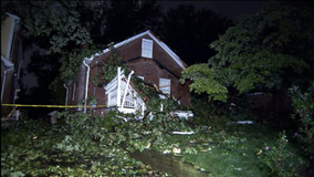 Strong storms cause major damage across DMV