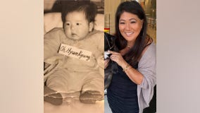 Northern California woman, adopted at birth, begins search for biological mother, learns of identical twin