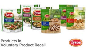 Tyson recalls ready-to-eat chicken products due to possible Listeria contamination
