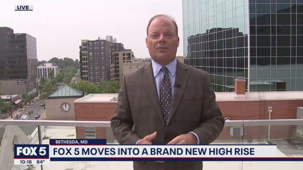 Bob Barnard shows off new FOX 5 Skydeck!