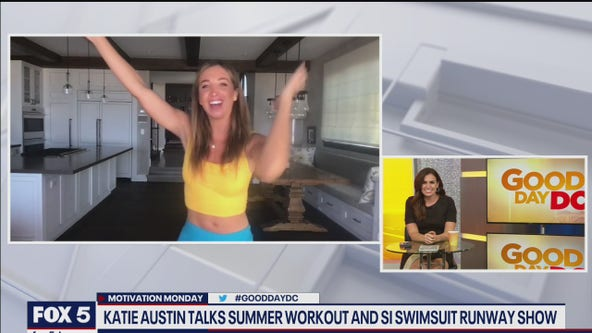 Katie Austin talks summer workouts, the SI runway show and body positivity