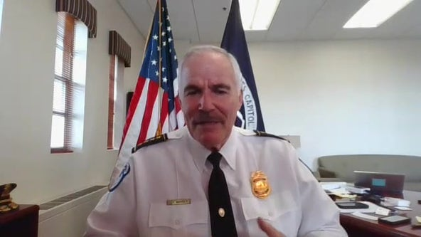 New Capitol Police Chief says training, equipment, policy changes are priorities
