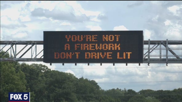 Clever road signs promote safer driving in Virginia