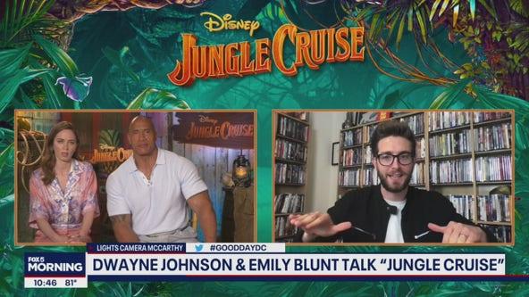 Dwayne Johnson, Emily Blunt star in Jungle Cruise