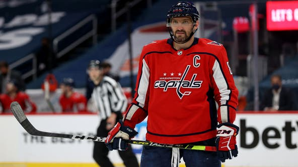 Washington Capitals re-sign captain Alex Ovechkin to five-year contract