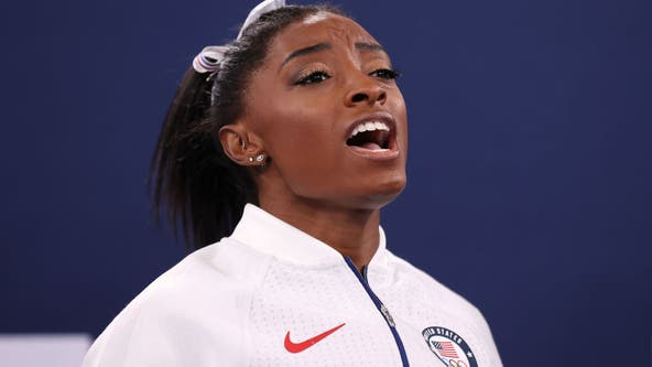 Russia wins gymnastics gold after Simone Biles exits Olympics team finals