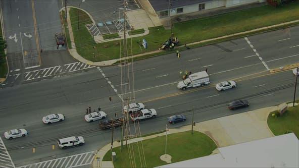 1 dead in crash on New Hampshire Avenue in Colesville