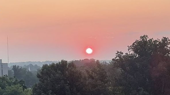 Western wildfires bring haze to DC area; air quality alert for most of the region Tuesday