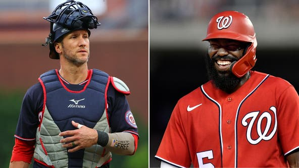 Nationals deal Josh Harrison, Yan Gomes to A's: report
