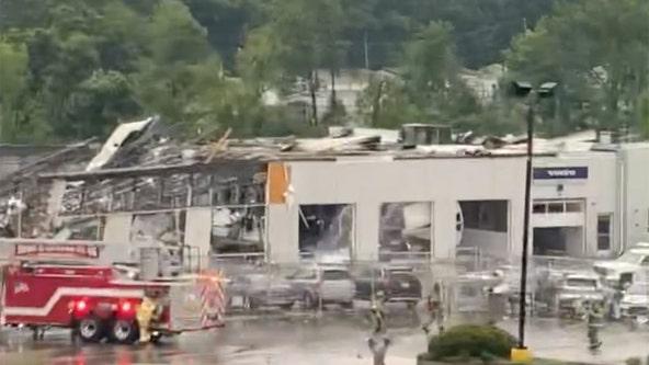 'Large, dangerous' tornado leaves behind widespread damage in Bucks County