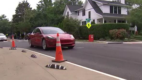 Alexandria residents say new markings on high-traffic road causing confusion