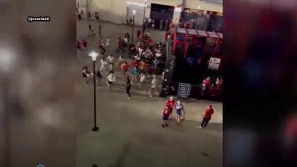 VIDEO: Chaos breaks out at Nationals Park after shooting outside stadium
