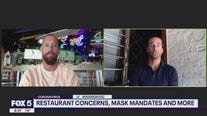 Restaurant concerns and mask mandates with the Heidenberger Brothers