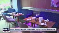 Delta variant, mask mandate causing concern ahead of DC Restaurant Week