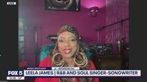 Leela James powerhouse R&B soul singer and songwriter