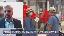 Businesses prepare for new COVID wave