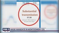 Montgomery County restoring indoor mask order on Saturday