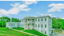 White House replica for sale in McLean complete with faux Oval Office