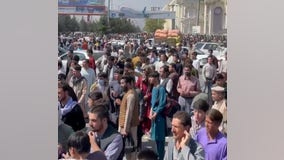Taliban: US airstrike hits suicide bomber targeting airport
