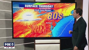 FOX 5 Weather forecast for Thursday, August 5