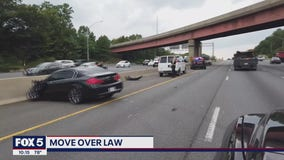 First responders issue reminder about 'Move Over' laws as deadly crashes increase