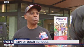 Raising money for DC-area schools with the Safeway Foundation