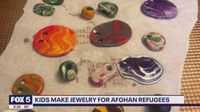 Local kids selling jewelry to help raise money for Afghan refugees
