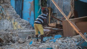 Haiti earthquake: Death toll rises to 1,419 as severe weather looms