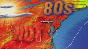 Sunny and hot Thursday with highs in the upper-80s; humidity on the rise