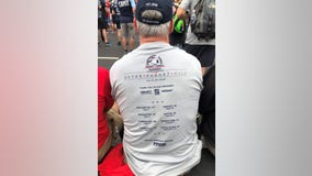 Brother of fallen 9/11 firefighter begins walking 500+ miles to mark 20th anniversary