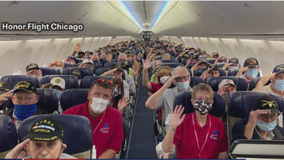 Honor Flight holds first trip since start of COVID-19 pandemic