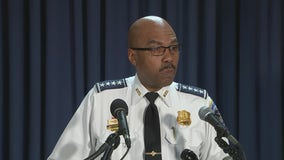 DC cop caught on camera repeatedly punching suspect placed on leave, chief says