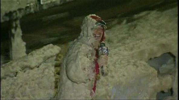 Tucker Barnes celebrates 10-year anniversary of viral sea foam video