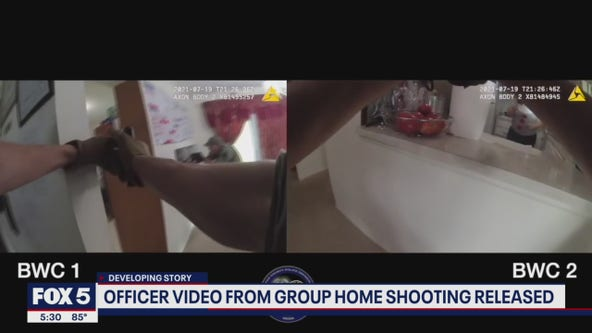 Bodycam video from Virginia group home shooting released by police